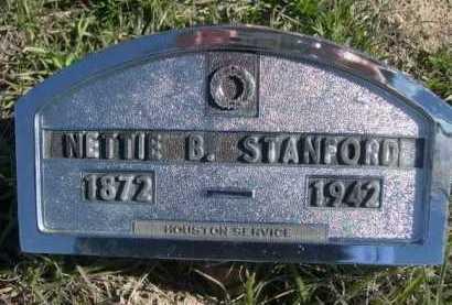 STANFORD, NETTIE B. - Dawes County, Nebraska   NETTIE B. STANFORD - Nebraska Gravestone Photos