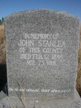 STANLEA, JOHN - Dawes County, Nebraska | JOHN STANLEA - Nebraska Gravestone Photos
