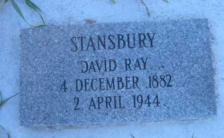 STANSBURY, DAVID RAY - Dawes County, Nebraska | DAVID RAY STANSBURY - Nebraska Gravestone Photos