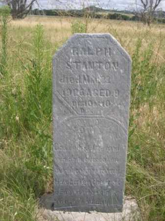 STANTON, RALPH - Dawes County, Nebraska | RALPH STANTON - Nebraska Gravestone Photos