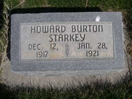 STARKEY, HOWARD BURTON - Dawes County, Nebraska | HOWARD BURTON STARKEY - Nebraska Gravestone Photos