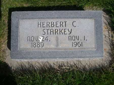 STARKEY, HERBERT C. - Dawes County, Nebraska   HERBERT C. STARKEY - Nebraska Gravestone Photos