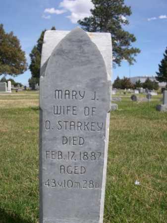 STARKEY, MARY J - Dawes County, Nebraska | MARY J STARKEY - Nebraska Gravestone Photos
