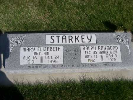 MCCLAIN STARKEY, MARY ELIZABETH - Dawes County, Nebraska | MARY ELIZABETH MCCLAIN STARKEY - Nebraska Gravestone Photos