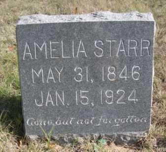 STARR, AMELIA - Dawes County, Nebraska   AMELIA STARR - Nebraska Gravestone Photos