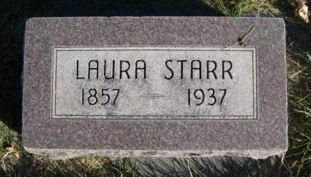 STARR, LAURA - Dawes County, Nebraska | LAURA STARR - Nebraska Gravestone Photos