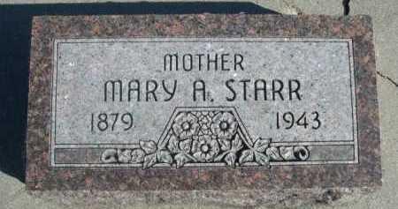STARR, MARY A. - Dawes County, Nebraska | MARY A. STARR - Nebraska Gravestone Photos