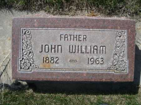 STECK, JOHN WILLIAM - Dawes County, Nebraska | JOHN WILLIAM STECK - Nebraska Gravestone Photos