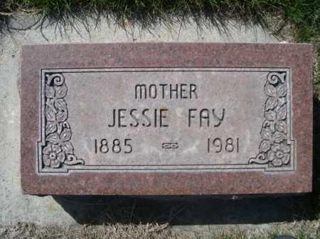 STECK, JESSIE FAY - Dawes County, Nebraska | JESSIE FAY STECK - Nebraska Gravestone Photos