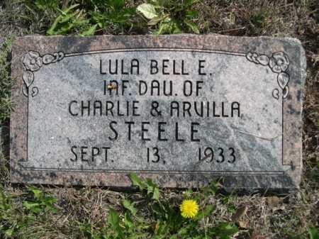 STEELE, LULA BELL E. - Dawes County, Nebraska | LULA BELL E. STEELE - Nebraska Gravestone Photos
