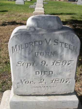 STEEN, MILDRED - Dawes County, Nebraska | MILDRED STEEN - Nebraska Gravestone Photos