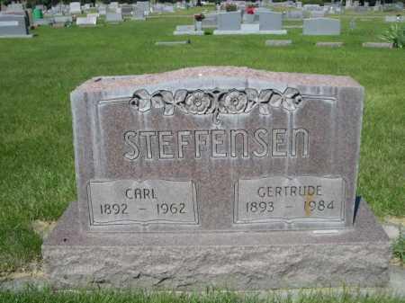 STEFFENSEN, CARL - Dawes County, Nebraska | CARL STEFFENSEN - Nebraska Gravestone Photos