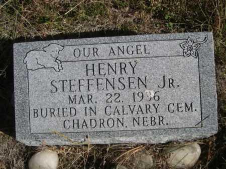 STEFFENSEN, HENRY JR. - Dawes County, Nebraska | HENRY JR. STEFFENSEN - Nebraska Gravestone Photos