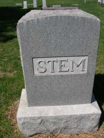 STEM, FAMILY - Dawes County, Nebraska | FAMILY STEM - Nebraska Gravestone Photos