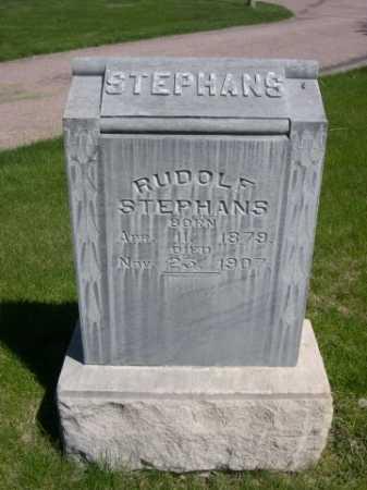 STEPHANS, RUDOLF - Dawes County, Nebraska | RUDOLF STEPHANS - Nebraska Gravestone Photos