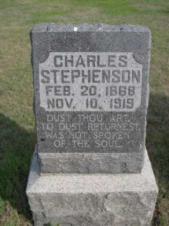 STEPHENSON, CHARLES - Dawes County, Nebraska | CHARLES STEPHENSON - Nebraska Gravestone Photos