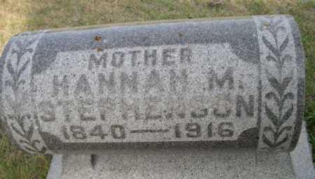 STEPHENSON, HANNAN M. - Dawes County, Nebraska | HANNAN M. STEPHENSON - Nebraska Gravestone Photos
