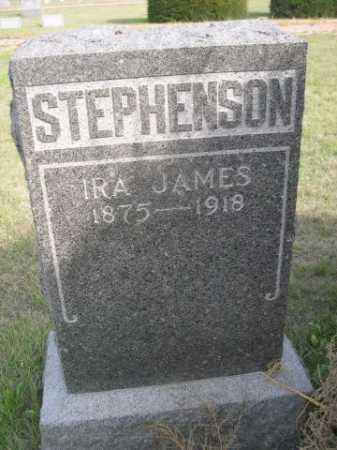 STEPHENSON, IRA JAMES - Dawes County, Nebraska | IRA JAMES STEPHENSON - Nebraska Gravestone Photos