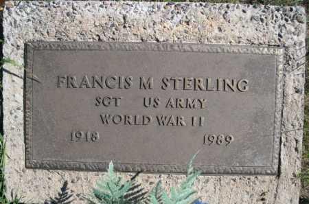 STERLING, FRANCIS M. - Dawes County, Nebraska | FRANCIS M. STERLING - Nebraska Gravestone Photos