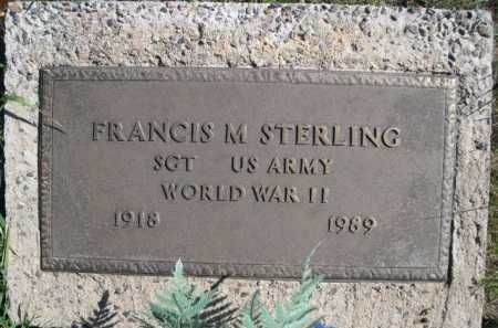 STERLING, FRANCIS M. - Dawes County, Nebraska | FRANCIS M. STERLING - Nebraska Gravestone Photos