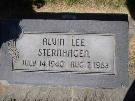STERNHAGEN, ALVIN LEE - Dawes County, Nebraska | ALVIN LEE STERNHAGEN - Nebraska Gravestone Photos