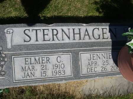 STERNHAGEN, JENNIE - Dawes County, Nebraska | JENNIE STERNHAGEN - Nebraska Gravestone Photos