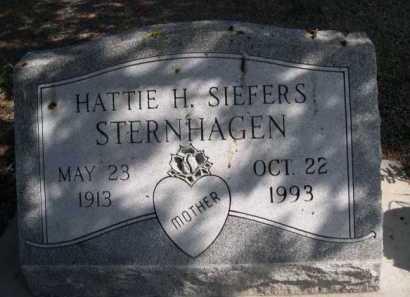 SIEFERS STERNHAGEN, HATTIE H. - Dawes County, Nebraska   HATTIE H. SIEFERS STERNHAGEN - Nebraska Gravestone Photos
