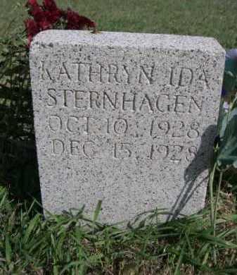 STERNHAGEN, KATHRYN IDA - Dawes County, Nebraska   KATHRYN IDA STERNHAGEN - Nebraska Gravestone Photos