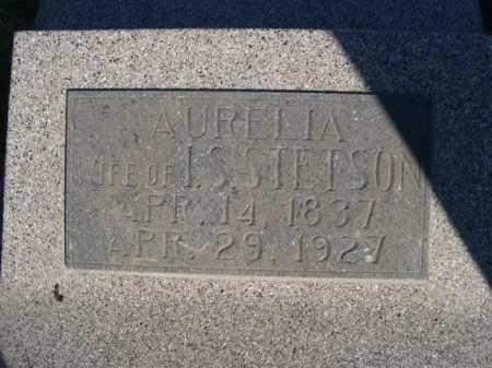 STETSON, AURELIA - Dawes County, Nebraska | AURELIA STETSON - Nebraska Gravestone Photos