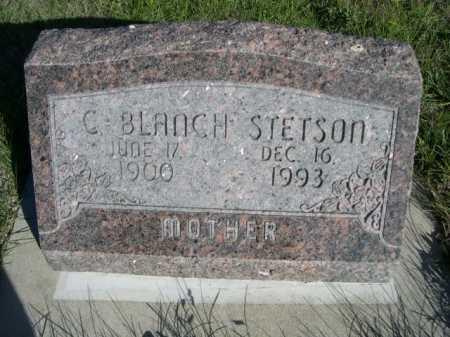 STETSON, C. BLANCH - Dawes County, Nebraska | C. BLANCH STETSON - Nebraska Gravestone Photos