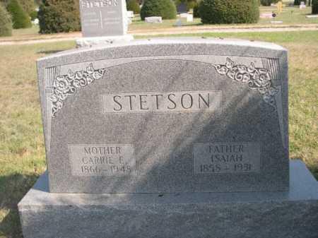 STETSON, ISAIAH - Dawes County, Nebraska | ISAIAH STETSON - Nebraska Gravestone Photos