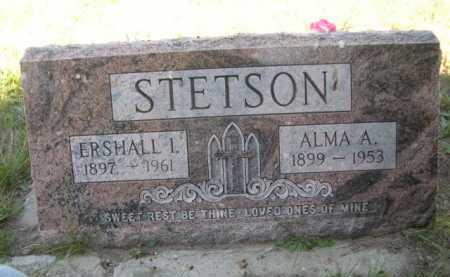 STETSON, ERSHALL I. - Dawes County, Nebraska   ERSHALL I. STETSON - Nebraska Gravestone Photos