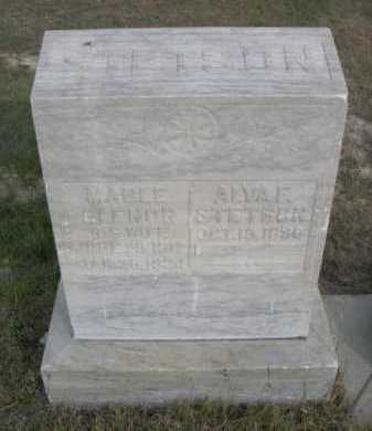 STETSON, ALVA F. - Dawes County, Nebraska | ALVA F. STETSON - Nebraska Gravestone Photos