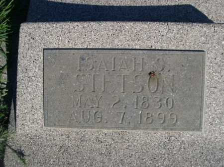 STETSON, ISAIAH S. - Dawes County, Nebraska | ISAIAH S. STETSON - Nebraska Gravestone Photos