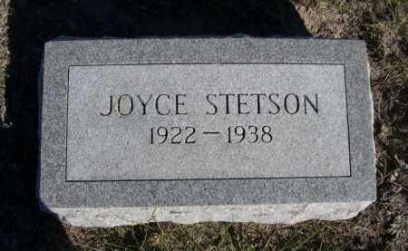 STETSON, JOYCE - Dawes County, Nebraska   JOYCE STETSON - Nebraska Gravestone Photos
