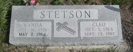 STETSON, WANDA - Dawes County, Nebraska | WANDA STETSON - Nebraska Gravestone Photos