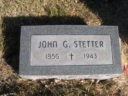 STETTER, JOHN G. - Dawes County, Nebraska | JOHN G. STETTER - Nebraska Gravestone Photos