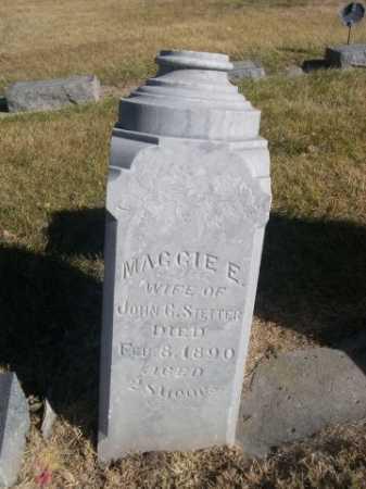 STETTER, MAGGIE E. - Dawes County, Nebraska | MAGGIE E. STETTER - Nebraska Gravestone Photos