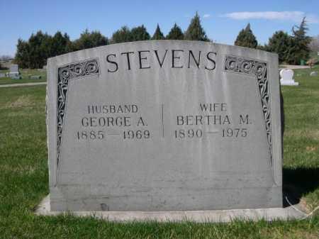 STEVENS, BERTHA M. - Dawes County, Nebraska | BERTHA M. STEVENS - Nebraska Gravestone Photos