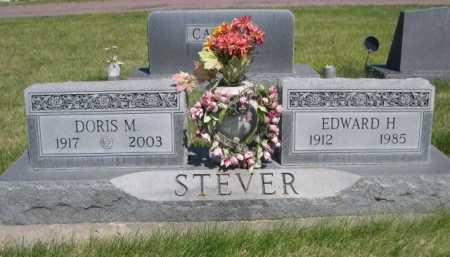 STEVER, EDWARD H. - Dawes County, Nebraska | EDWARD H. STEVER - Nebraska Gravestone Photos