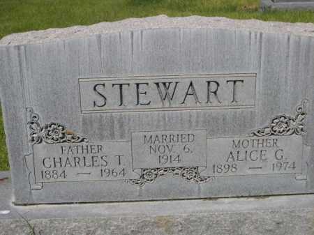 STEWART, ALICE G. - Dawes County, Nebraska | ALICE G. STEWART - Nebraska Gravestone Photos