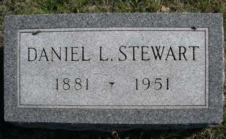 STEWART, DANIEL L. - Dawes County, Nebraska | DANIEL L. STEWART - Nebraska Gravestone Photos