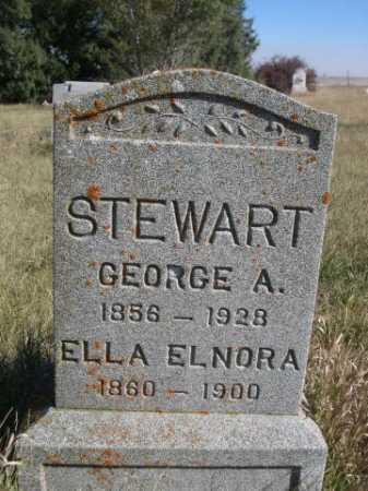STEWART, ELLA ELNORA - Dawes County, Nebraska   ELLA ELNORA STEWART - Nebraska Gravestone Photos