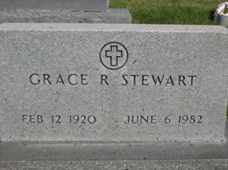 STEWART, GRACE R. - Dawes County, Nebraska | GRACE R. STEWART - Nebraska Gravestone Photos
