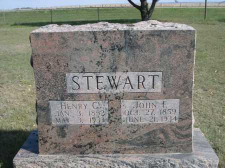 STEWART, HENRY C. - Dawes County, Nebraska | HENRY C. STEWART - Nebraska Gravestone Photos