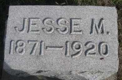 STEWART, JESSE M. - Dawes County, Nebraska | JESSE M. STEWART - Nebraska Gravestone Photos