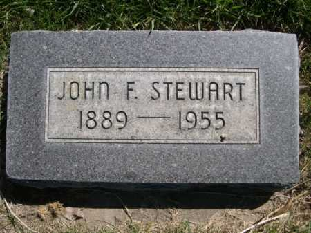 STEWART, JOHN F. - Dawes County, Nebraska   JOHN F. STEWART - Nebraska Gravestone Photos