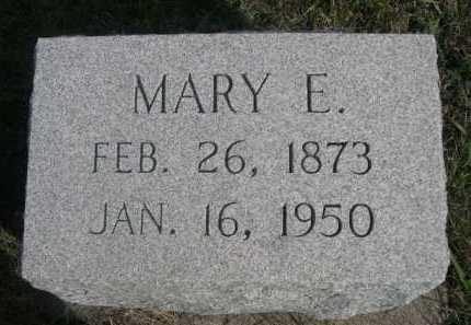 STEWART, MARY E. - Dawes County, Nebraska   MARY E. STEWART - Nebraska Gravestone Photos