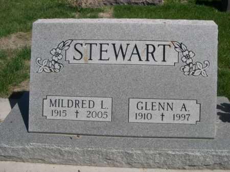 STEWART, GLENN A. - Dawes County, Nebraska | GLENN A. STEWART - Nebraska Gravestone Photos