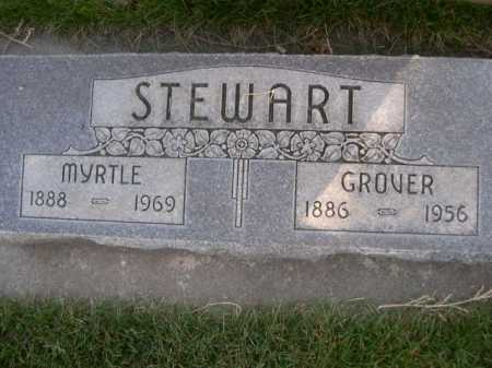 STEWART, GROVER - Dawes County, Nebraska | GROVER STEWART - Nebraska Gravestone Photos